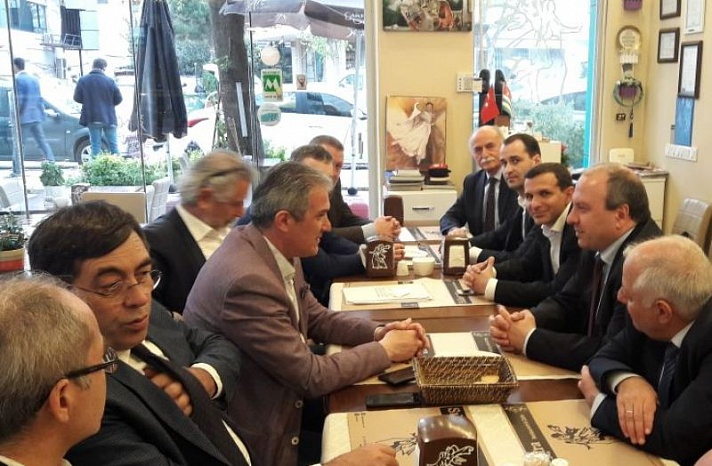 Абхазская делегация впервые приняла участие во Всемирном конгрессе-выставке